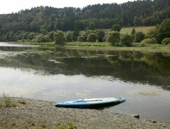 Hohenwarte Talsperre sitio de stand up paddle / paddle surf en Alemania