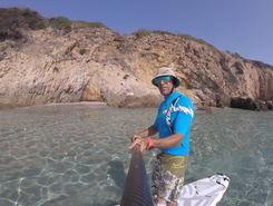 Chia Sardegna sitio de stand up paddle / paddle surf en Italia