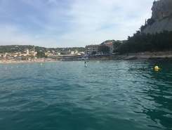 Port de Cassis paddle board spot in France