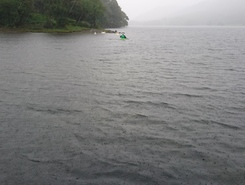 Coniston water paddle board spot in United Kingdom
