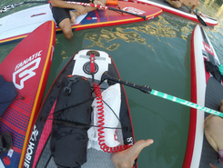 Peney-Dessous sitio de stand up paddle / paddle surf en Suiza