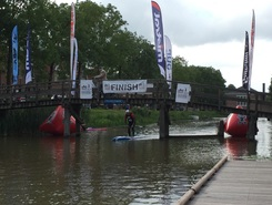 Franeker paddle board spot in Netherlands