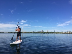 Kew/Balmy Beach sitio de stand up paddle / paddle surf en Canadá