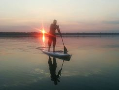 Sodyba Prie Dusios sitio de stand up paddle / paddle surf en Lituania