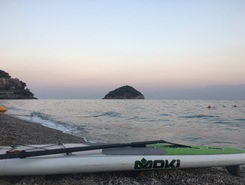 Bergeggi  paddle board spot in Italy