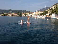 Salò sitio de stand up paddle / paddle surf en Italia