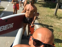 Touring con pedaló paddle board spot in Italy