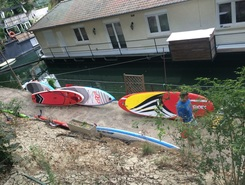 Levallois-Perret spot de stand up paddle en France
