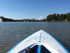 Oyster Creek Boathouse spot de SUP em Estados Unidos