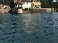 Pier 17 paddle board spot in Switzerland