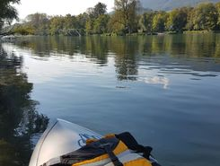aare rupperswil spielplatz paddle board spot in Switzerland