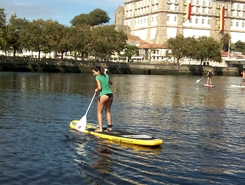 Vila do Conde spot de stand up paddle en Portugal