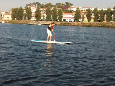 Vila do Conde paddle board spot in Portugal