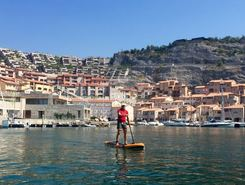 Porto Piccolo spot de stand up paddle en Italie