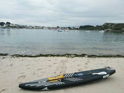 Portsall  sitio de stand up paddle / paddle surf en Francia