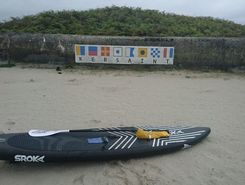 Portsall  paddle board spot in France