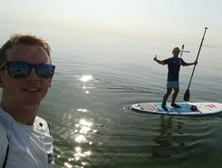 kuwait paddle board spot in Kuwait