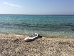 Agrotikes filakea paddle board spot in Greece