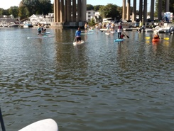 Saugatuck River Westport CT  paddle board spot in United States
