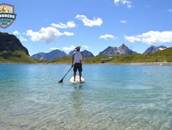 Lago di Morasco paddle board spot in Italy