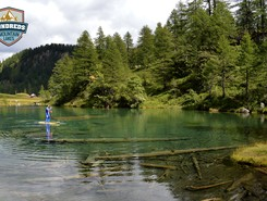 livigno paddle board spot in Italy