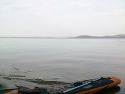 nice morning recreation  spot de stand up paddle en Croatie