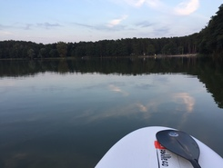 Lake Sarcz, Trzcianka Poland paddle board spot in Poland