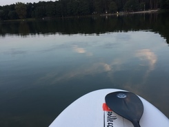Lake Sarcz, Trzcianka Poland spot de stand up paddle en Pologne