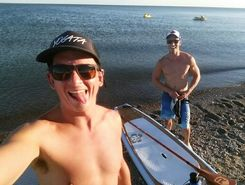 Frenchmans Bay, Pickering paddle board spot in Canada