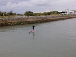 Chenal de la Perrotine paddle board spot in France