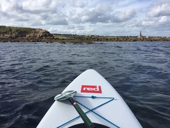 Longsands beach & King Edwards Bay paddle board spot in United Kingdom