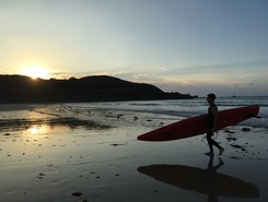 Longchamp - Saint Lunaire sitio de stand up paddle / paddle surf en Francia