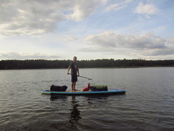 Mecklenburg Lakes paddle board spot in Germany