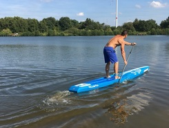 Paalse plas spot de stand up paddle en Belgique