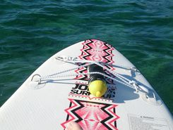 Biograd na moru to camp Soline spot de stand up paddle en Croatie