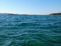 Biograd na moru to camp Soline paddle board spot in Croatia