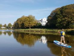 slotgracht  middelburg paddle board spot in Netherlands
