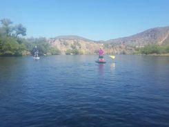 Salt River paddle board spot in United States