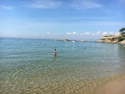 rosas costa brava paddle board spot in Spain