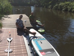 Leeuwarden - Potmarge paddle board spot in Netherlands