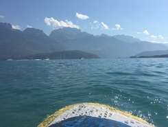 Stand-up.annecy.com sitio de stand up paddle / paddle surf en Francia