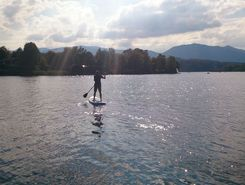 Staffelsee paddle board spot in Germany