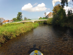 Oker river, Schladen sitio de stand up paddle / paddle surf en Alemania