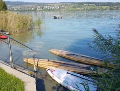 Schloss Hallwyl sitio de stand up paddle / paddle surf en Suiza