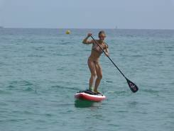 Sainte Maxime spot de stand up paddle en France