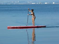 Etang de Berre paddle board spot in France