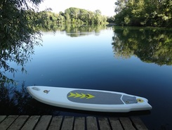 Lac de Marnay paddle board spot in France