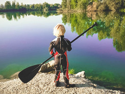 Moosandlweiher sitio de stand up paddle / paddle surf en Alemania