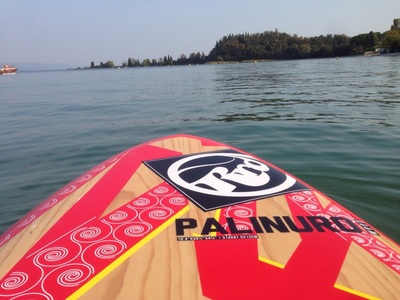 Baia del vento paddle board spot in Italy