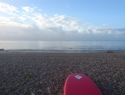 Worthing paddle board spot in United Kingdom